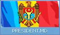 Pagina oficiala a Presedintelui Republicii Moldova